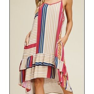 Annabell high low dress size Med